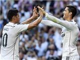Real Madrid 3-1 Barcelona: Ronaldo lập công, Barca đứt mạch bất bại
