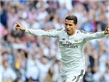 CHÙM ẢNH: Ronaldo tỏa sáng, Barca thảm bại tại Bernabeu