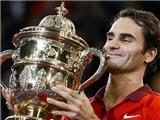Roger Federer vô địch giải Swiss Indoors Basel: Chuyến tàu tới ngôi số một