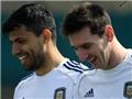 Aguero: 'Messi sợ bị tôi lừa dối'