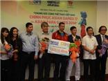 VIDEO: Trao thưởng 'Chung sức cùng Thể thao Việt Nam chinh phục ASIAN 17 và ASIAN Para Games 2014'