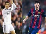 Top 10 cầu thủ xuất sắc nhất hành tinh: Messi, Ronaldo thống trị. Robben xếp trên Neymar