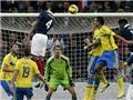 Pháp 1-0 Thụy Điển: Varane mang về chiến thắng, Benzema sút hỏng penalty