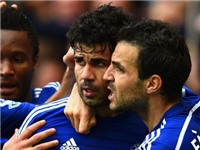 Chelsea nhận tin vui từ Diego Costa và Fabregas