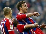 Goetze sút xa ngoạn mục, Bayern đè bẹp Hoffenheim 4-0