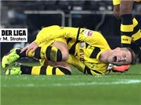 Dortmund mất điểm, Reus lại chấn thương: Vận đen chưa dứt