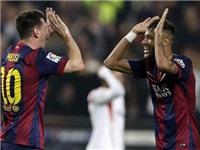 Ca ngợi Messi, đừng quên Neymar