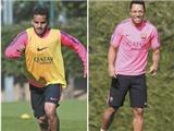 Ai sẽ đá hậu vệ phải cho Barca?