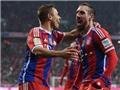 Từ cú vô lê đẹp mắt của Ribery đến pha đánh đầu dũng mãnh của Guendogan