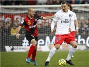 Guingamp 1-0 PSG: Ibrahimovic và Cavani không cứu nổi PSG