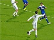 Ronaldo suýt ghi bàn với cú Rabona ngẫu hứng