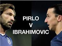 Pirlo san bằng kỉ lục của Ibrahimovic