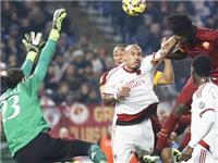 Roma – Milan 0-0: Bị từ chối phạt đền, Roma mất điểm trước Milan