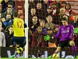 Liverpool 2-2 Arsenal: 'Pháo thủ' đánh rơi điểm ở Anfield