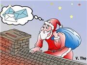 Quà Giáng sinh- Tranh của họa sĩ Văn Thọ