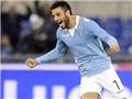 Sức trẻ Serie A từ cú đúp của Felipe Anderson: Dòng nham thạch đang âm ỉ