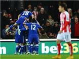 Stoke City 0-2 Chelsea: Fabregas rực sáng, Chelsea đón Giáng sinh với ngôi đầu