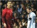 Cristiano Ronaldo lên, Lionel Messi xuống vì... World Cup