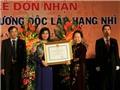 Ban biên tập Tin trong nước - TTXVN nhận Huân chương Độc lập hạng Nhì