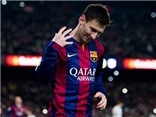 """Con số bình luận: """" Điều kì diệu của Barcelona """"  Lionel Messi"""