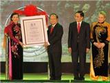 Lễ đón Bằng ghi danh Quần thể danh thắng Tràng An là Di sản văn hóa và Thiên nhiên thế giới