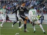 Cordoba 1-2 Real Madrid: Ronaldo nhận thẻ đỏ. Gareth Bale giúp Real Madrid giành chiến thắng