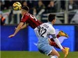 Lazio 3-1 AC Milan: Parolo lập cú đúp, Milan nhận 'trái đắng' ở Olimpico