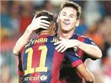 'Hàng công mạnh nhất thế giới' của Barca: Khúc song tấu của Messi và Neymar