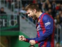 Hàng thủ Barca: Sự toàn diện của Pique