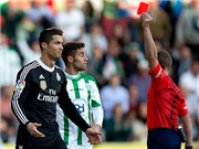 9 khoảnh khắc thẻ đỏ của Ronaldo: Thiết đầu công, dùng tay chơi bóng, đấm vỡ mũi đối thủ...