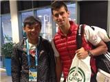 Australian Open 2015: Lý Hoàng Nam rạng rỡ bên thần tượng Djokovic
