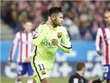 Atletico 2-3 Barcelona: Trận đấu điên rồ, Atletico đá 9 người, Neymar giúp Barca vào bán kết