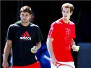 Bán kết 1 đơn nam Australian Open 2015: Murray tâm lý trước HLV của Berdych?