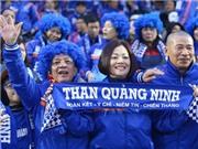 CHÙM ẢNH: Cổ động viên Than Quảng Ninh, một năm V-League và những vui buồn