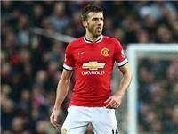Man United mất Carrick 4 tuần vì chấn thương