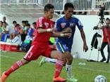 HA.GL 1-2 Than Quảng Ninh: Minh Tuấn sút xa, Than Quảng Ninh thắng với 10 người
