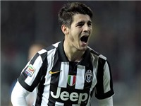 21h00, 1/2, Udinese - Juventus: Tevez, Llorente, Morata - Cây đinh ba của Allegri