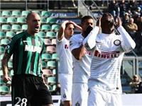 Sassuolo 3-1 Inter: 3 trận liền không thắng, Mancini chẳng khác gì Mazzarri