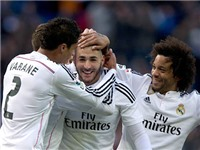 Hàng công Real Madrid: Sao băng Benzema