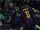 Barca 3-2 Villarreal: Neymar và Messi lại tỏa sáng, Barca ngược dòng ở Camp Nou