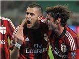 AC Milan 3-1 Parma: Jeremy Menez lập cú đúp, Milan nhảy lên xếp thứ 9