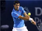 Djokovic giành chiến thắng đầu tiên ở giải quần vợt Dubai mở rộng