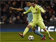 Chóng mặt với lối chơi 'bóng ma' của Barca trước Man City