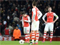 Arsenal thua Monaco 1-3 ngay tại sân nhà: Bao năm rồi, Arsenal vẫn không tiến bộ