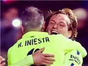 VIDEO Granada 1-3 Barca: Rakitic, Suarez và Messi ghi bàn, Barca áp sát Real