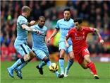 Liverpool 2-1 Man City: 'Siêu phẩm' của Coutinho giúp Liverpool giành trọn 3 điểm