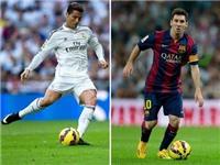 Messi xếp sau Ronaldo trong Top 10 chân sút vĩ đại nhất ở 5 giải đấu hàng đầu châu Âu
