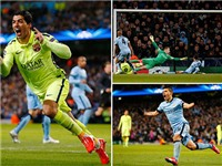 Suarez, Ivanovic, Marcelo... tranh giải bàn thắng đẹp Champions League