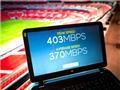 Sân Wembley được trang bị kết nối không dây siêu nhanh 400 Mbps