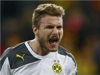Dortmund 2-0 Dynamo Dresden: Immobile lập cú đúp, Dortmund vào Tứ kết cúp QG Đức